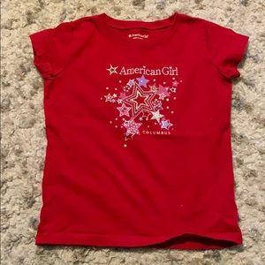"American Girl ""Columbus"" T-Shirt"